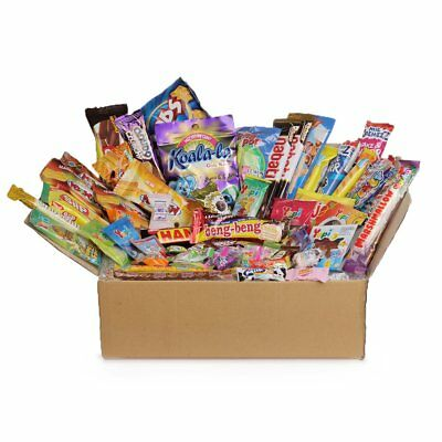 60pc DAGASHI C MIX SWEETS GIFT BOX SWEET HAMPER CANDY BIRTHDAY TREATS KIDS PARTY