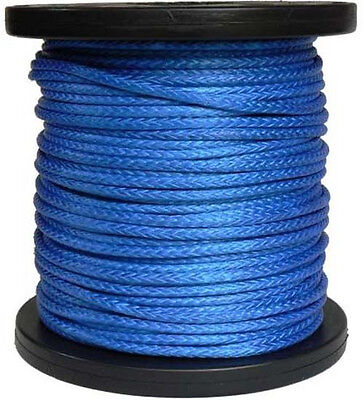 "3/16"" x 100' Dyneema Synthetic Winch Rope/Cable for ATV UTV Offroad Recovery"