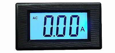 LCD Digital AMP Panel Meter AC 50A Current transformer [DORL_A]