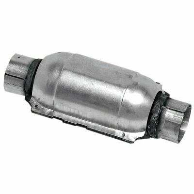 """Walker Exhaust Catalytic Converter Stainless 2.25"""" Inlet/Outlet 11.5"""" Length EA"""