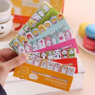 Cute Animal Sticker Bookmark Marker Memo Index Tab Sticky Notes!
