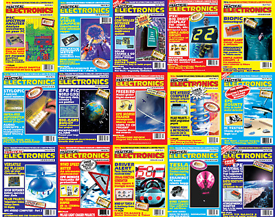 Everyday Practical Electronics Magazine Collection 206 Issues In PDF on DVD