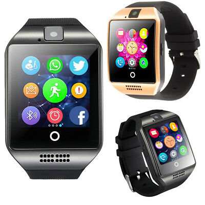 Q18 Touch Screen Smart Wrist Watch Sport Wristwatch w/Camera for Android Sumsung