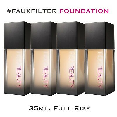 HUDA BEAUTY #FauxFilter FOUNDATION (Various Shades) 35ml Full Size. Brand New