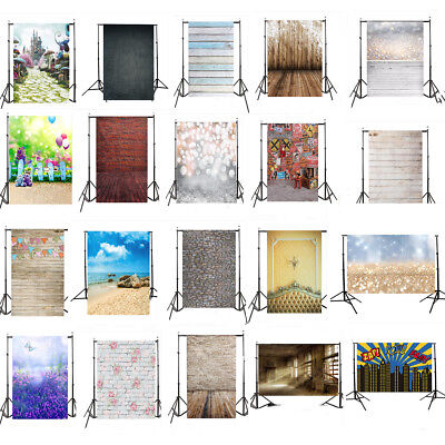 2018 NEW 56Types Wood Wall Floor Photography Studio Backdrop Photo Background UK