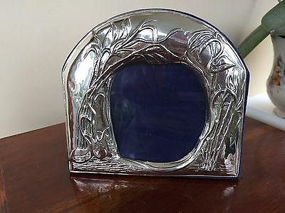 Continental Silver Picture Frame Marked 925