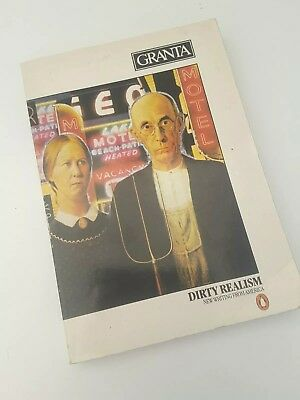 Granta 8 Dirty Realism New Writing From America Carver Carter Wolff Story Mag