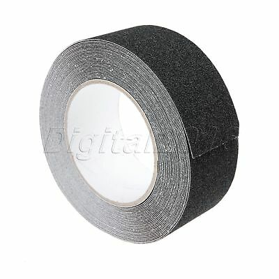 Black Anti-Slip Safety Tape for Stairs Tread Step Indoor Outdoor 5CM × 10M Roll