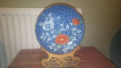 pair of Chinese plates antique signed excellent condition