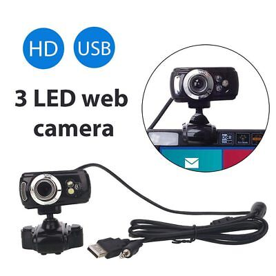 Full HD USB 50.0M Webcam Video Camera with Microphone for PC Laptop Skype NEW