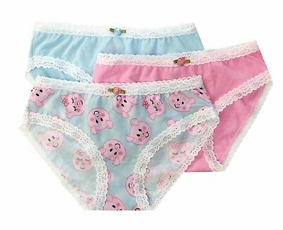 Esme Girls Comfortable Underwear L 7-8  Panty Piggy clearance
