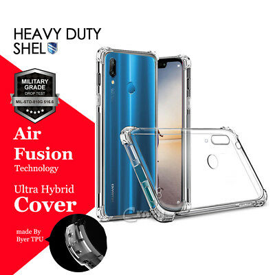 For Huawei Nova 3e 3i P20 P30 Pro Lite Heavy Duty Clear Shockproof Case Cover