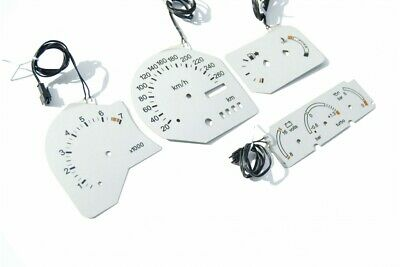 Ford Escort RS Cosworth - INDIGLO plasma dials, replacement glow gauges glow gau