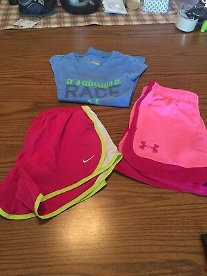Lot Of Girls Under Armour/nike Size YMD/MD