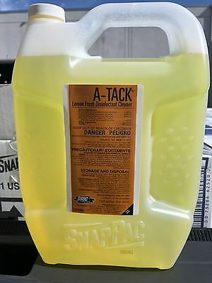 A-Tack Lemon Fresh Disinfectant Cleaner