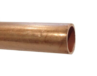 8mm Copper Pipe / Tube (100mm - 500mm Lengths Available)