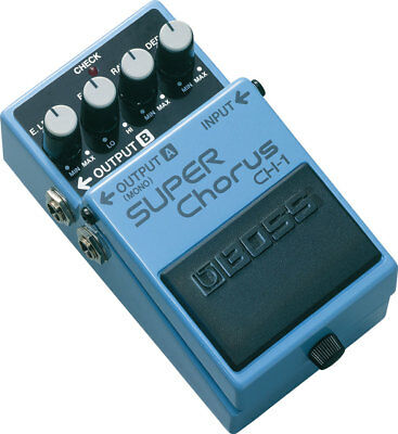 BOSS CH-1 Super Chorus NEW Guitar Effects Pedal w/ FREE PICK