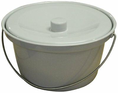 Replacement 5 Litre Bucket Pan with Handle for Standard Commode