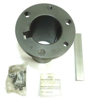 "Martin Q3 2 3/16 MST Bushing, Ductile Iron, 2.19"" Bore, 2.875"" OD, 5"" Length"