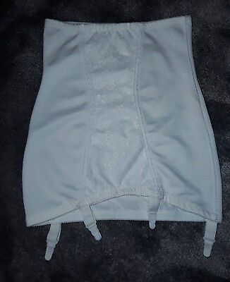 vintage girdle roll on foundation garment nylon lacey sexy suspenders