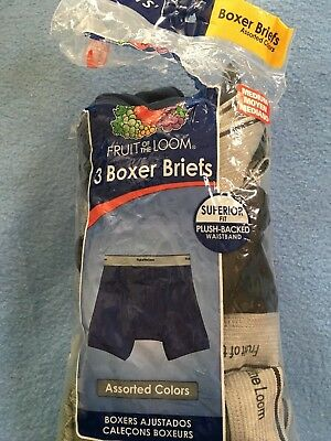 Boys Fruit of the Loom Boxer Brief set