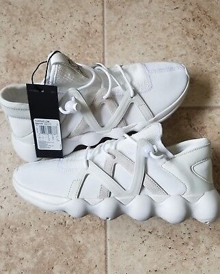 the latest 414d5 a424e New Adidas Y-3 Mens Kyujo Low Sneakers S82125 FTW WhiteCrystal White Size