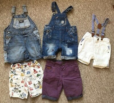 Boys summer clothes bundle age 18-24 months in good condition