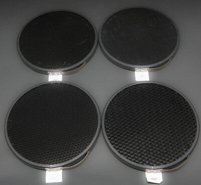 "Paul C Buff Alien Bees 7"" Standard Reflector Grids (set of 4), FREE SHIPPING!!"
