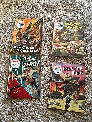 war picture library comics Issue 41,42,43 And 44
