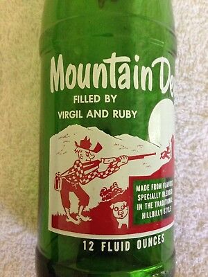 Mountain Dew Name Bottle  Virgil And Ruby  Mt Dew  Mtn. Dew
