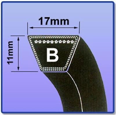 B Section V Belt Sizes B22 - B55 V Belt 17Mm X 11Mm Vee Belt