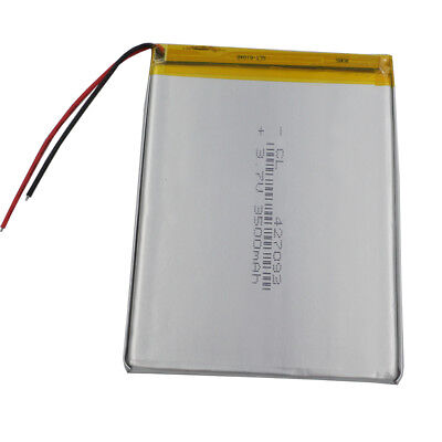 3.7V 3500 mAh Rechargeable Polymer Lipo battery For GPS PAD Tablet PC MID 427093