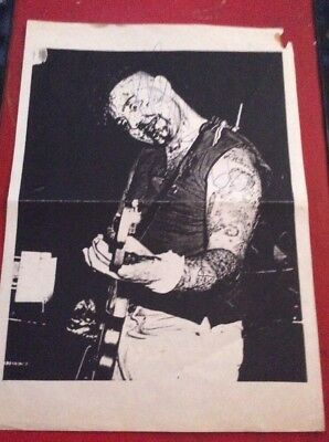 """Meteors-""""Tales Of The Bell""""-Fanzine Issue 1-""""Very-Rare""""-1990+Signed Paul Fenech-"""