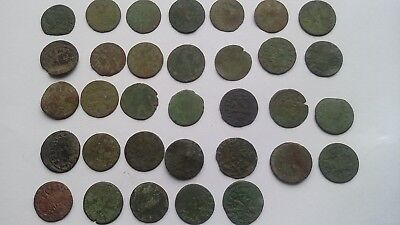 Lot of 33 coins.Solidus 1660-1666 John ll Casimir Vasa Grand Duchy of Lithuania.