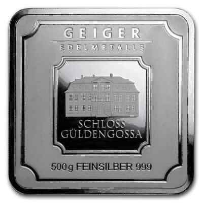 Geiger Edelmetalle 25 X 1 Gram Silver Bar Original Multicard New - Sealed