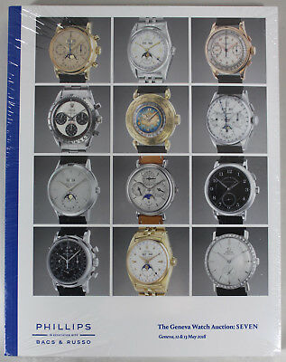 Phillips Auction Catalog - Geneva Watch Auction: SEVEN, May 2018 NEW~!!
