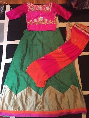 Lehenga Choli Designer Bollywood Designer Indian New Women Work Wedding