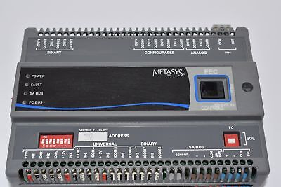 Johnson Controls Metasys Ms-Fec2610-0 Ms-Feb2610-0 Controller Plc