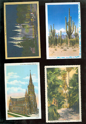 Lot of 4 Early   Postcards