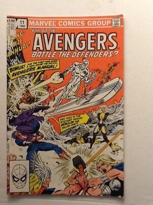 Marvel Comics Why Do The Avengers Battle The Defenders King Size Annual