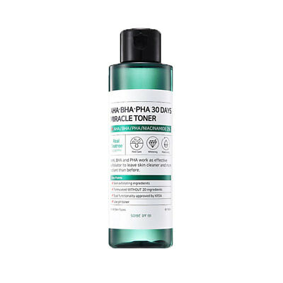 [SOMEBYMI] SOME BY MI AHA BHA PHA 30 Days Miracle Toner - 150ml / Free Gift