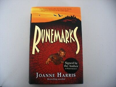 Runemarks by Joanne Harris, 1st edition, signed