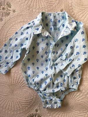 baby gap boy Shirt 12-18 Months