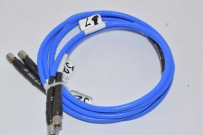 Lot of 2 Teledyne Storm Mfr-57500 RF True Blue 205 Cable