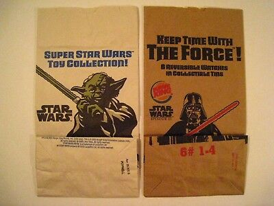 2005 The Super Star Wars Collection Burger King Kids Meal Toy Episode Iii In Bag