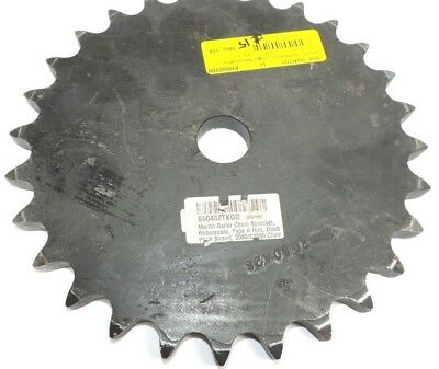 "Martin Roller Chain Sprocket Reboreable Type A, 2"" Pitch, 9.48"" OD, 1.188: Bore"