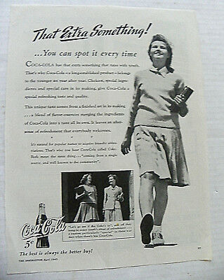 """1943,apr. The Instructor """"that Extra Something!"""" School Girl"""