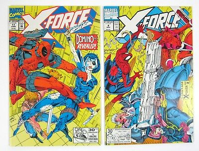 X-Force #4 and #11 First App of Domino Deadpool 2 Movie Marvel Key