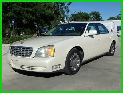 Cadillac DeVille 119K PEARL WHITE HEATED LTHR COLD AC ONSTAR FM CD LOADED ONLY 119K MILES PEARL WHITE HEATED LTHR ONSTAR COLD AC FM CD CLEAN LAST BID WINS