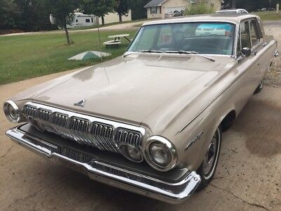 1963 Dodge Other Base 1963 DODGE 330 FOUR DOOR SEDAN